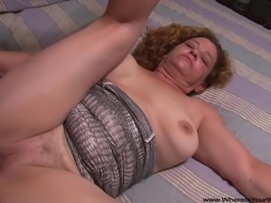 Anal Big Tit Granny Gets Butt Fucked