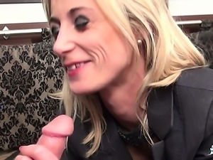 La Cochonne - Naughty French mature amateur in hot rough sex