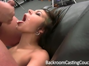 SEXY TEEN REBEL ASS FUCKED ON CASTING COUCH