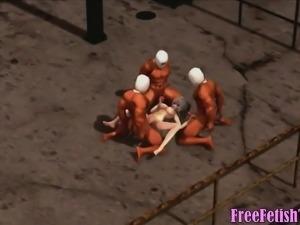 3D Hentai Loli Gangbang - FreeFetishTVcom