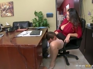 Brazzers - Alison Tyler has a little office f