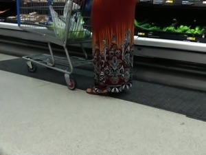 Mature big booty shopping 2
