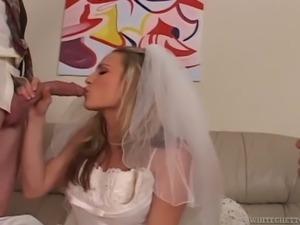 cuckolded on my wedding day threesome
