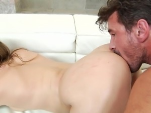 My wife told me, that she has invented a new position for anal sex. It will...