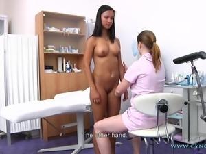 Victoria Gyno Exam
