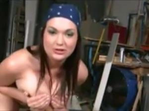 Big Natural Tits Bouncing Up and Down #32