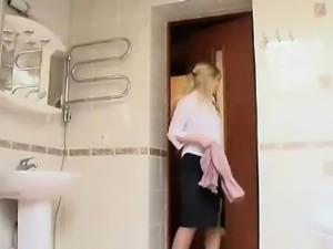 Teen Euro Toilet Shock