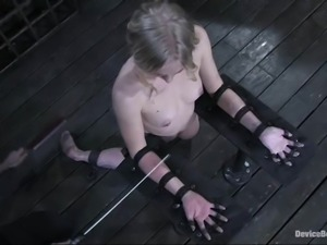 Damon Pierce and Sarah Jane Ceylon in hot BDSM video