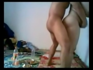 horny arab couple sextape