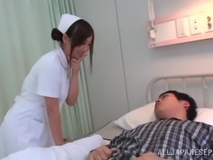 Sexy Japanese Nurse Gets Fucked by Her Sick Patient