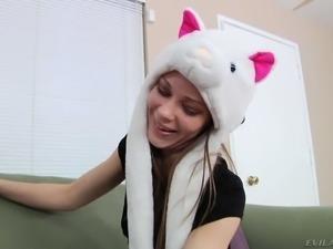 Playful hottie Alexa Nova wanna take Mark Wood's meat stick