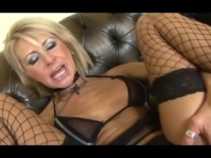 Horny Blonde MILF in interracial GB and Loves it! 202.SMYT