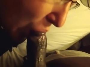 Beautiful Big Black Cock Blowjob 72