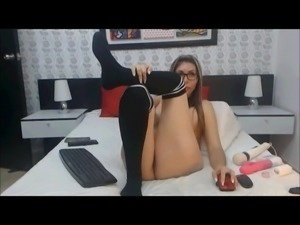 Latina milf with big boobs and sexy feet