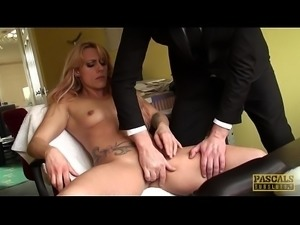 Fine looking submisive amateur dominated