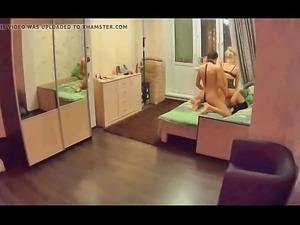 a fun night threesome sex PornWebcamZ.com