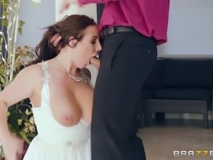 Angela White is so gonna get boned and face-fucked