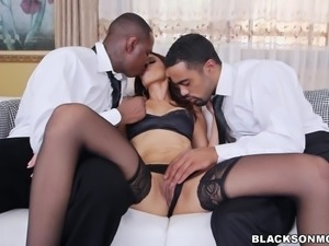 black door to door fuckers entice a hot milf