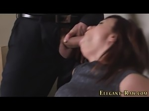 Classy slut face spunked