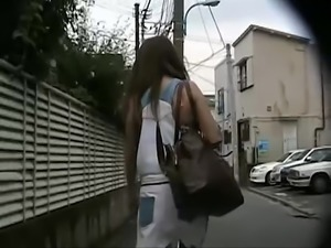 Japanese Women Get Panties Flashed by Hidden Cam Strangers #2