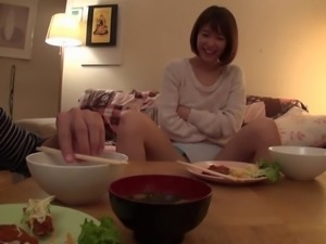 Nanami Kawakami is a cute Japanese girl who craves to be drilled