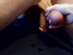 Wife milking prostate