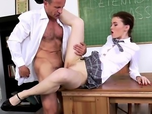 Misha Cross want to be fucked be her teacher