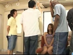 Cock suckingIori Mizuki bends for a big black cock