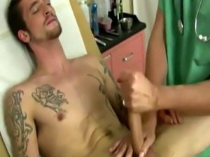 Men naked in doctors office gay Jake let out a noisy moan as