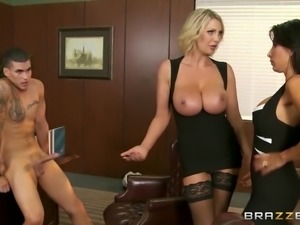 Brazzers - Family Titty Counseling scene