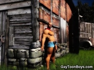3D Toned Boys Gay Fantasies!