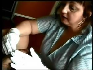 BBW MILF Nurse Cures Cock