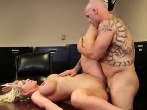 Ryan Conner - Busty Milf Office Fucking