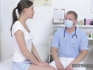 Nasty Doctor Feels Her Heart and More