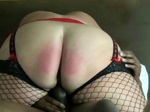 Huge ass babe on top of a BBC
