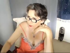 Janka horny mature goes solo