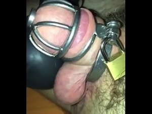 Self ruined and post orgasm