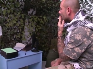 Hot doctor Lola Taylor ends up having sex with a soldier