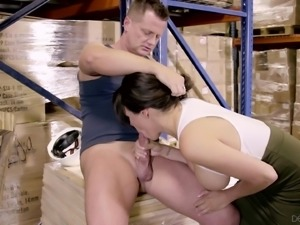 Lecherous Danica Dillon having her hairy cunt dicked by Eric Masterson