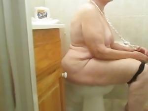 Hidden Bathroom   Camera   granny