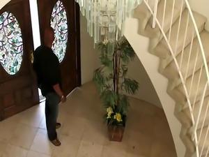Stunning Casey Calvert enjoys interracial anal with Shane Diesel