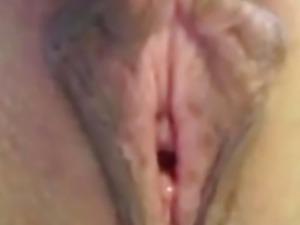 Pussy and clit masturbation