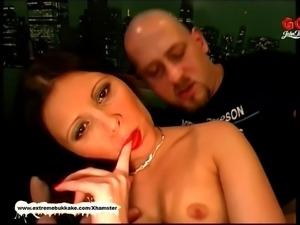 Cum addicted MILFS Adina Viktoria and Andrea in Sperm fiesta