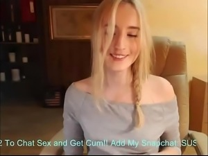 Mommy please ride my dick, hot mom suprise young son .