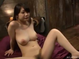 Mature lover seduces Hinagiku Tsubasa for an erotic experience