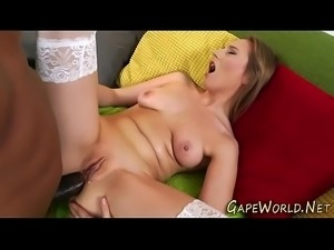 Babes ass banged by bbc