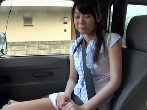 Yukiho Shiraoka wears a hot outfit while sucking on a man's prick