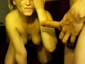Free Cute Amateur Blonde Live Blowjob and Facial