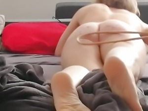 Poor A's bare butt