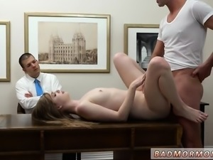 Teen blonde small tits squirt and sucks big black cock hd